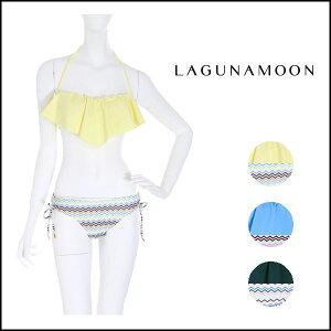 ラグナムーン(Laguna Moon)ラグナムーン(LAGUNAMOON)通販 ジャグドフリルビキニ バンドゥ 水着 ...