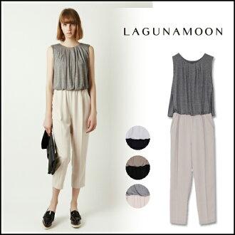拉古那月亮 LAGUNAMOON 塔奇曼的連身褲 031530303701 lagunamoon LAGUNAMOON 多功能一體女士連褲無袖