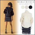 �ޡ������ǥ奪MERCURYDUO(10���ͽ��)BIG�ե�������֥˥åȥ�ǥ������ȥåץ��ϥ��ͥå������ȥ�ͥå��ե�������֥ե���001662600301