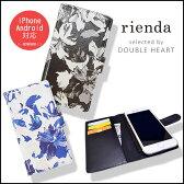 rienda リエンダ iPhoneケース クラシックフラワー iphone6Sケース/iphone6ケース 手帳型ケース 手帳 iPhone5 iPhone5S iPhone5C galaxxxy Android SEケース ブランド 人気 花柄 フラワー
