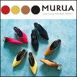 MURUA ムルーア アーモンドローパンプス レディース パンプス シューズ 靴 サンダル ローヒール 黒 赤 キャメル 黄色 011711800401