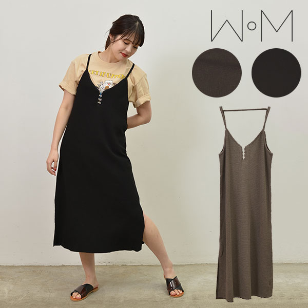 レディースファッション, ワンピース SALE50OFFWoM WAFFLE ONE PIECE 2WAY snb-j-21