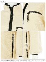 スナイデルsnidel通販10月中旬予約リバーシブルボアロングコートアウターレディースコートロング丈リバーシブル2wayボアカジュアルスポーティ無地冬オフホワイトブラックswfc184012[Y100]