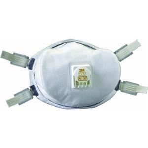 米国労働安全衛生研究所の定める最高ランクの基準N100をクリアした最高性能の防毒・防塵マスク...