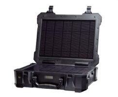 PowerGoポータブルバッテリー(ソーラーパネル搭載)(PG-192)【メーカー直送のため代金引換不可】