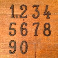 IRONNUMBER【0〜9】アイアンナンバー【0〜9】(リノベーション/DIY/リメイク/アイアン雑貨/デコレーション/ビンテージ/アンティーク/インダストリアル/工業デザイン/0316)