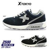 xtokyoメンズスニーカーカジュアルシューズ靴2500XTOKYO
