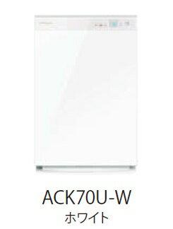 【ポイント5倍】 ダイキン ストリーマー空気清浄機 ACK70U-W