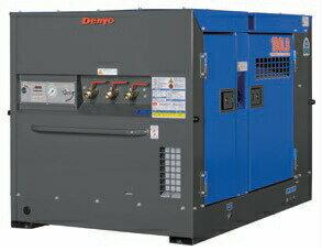 【ポイント10倍】 【直送品】 Denyo (デンヨー) エンジンコンプレッサ DAS-180LB 超低騒音型標準タイプ 【大型】