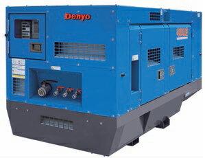 【ポイント10倍】 【直送品】 Denyo (デンヨー) エンジンコンプレッサ DAS-410LB 超低騒音型標準タイプ 【大型】