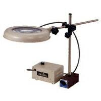 オーツカ光学 (OOTSUKA) LED照明拡大鏡 LEKワイド-MS 4倍 (LEK-MS-WIDE-4X) (マグネットスタンド式)