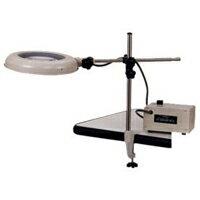 【ポイント5倍】 オーツカ光学 (OOTSUKA) LED照明拡大鏡 LEKワイド-ST 4倍 (LEK-ST-WIDE-4X) (ロングバー式):道具屋さん
