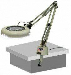 【ポイント10倍】 オーツカ光学 (OOTSUKA) LED照明拡大境・調光付 LSK-F ラウンド2倍:道具屋さん