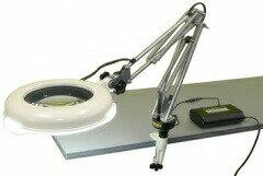 オーツカ光学 (OOTSUKA) LED照明拡大鏡・調光なし LSKs-CF ラウンド4倍:道具屋さん