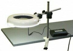 【ポイント5倍】 オーツカ光学 (OOTSUKA) LED照明拡大鏡・調光なし LSKs-ST ラウンド3倍:道具屋さん