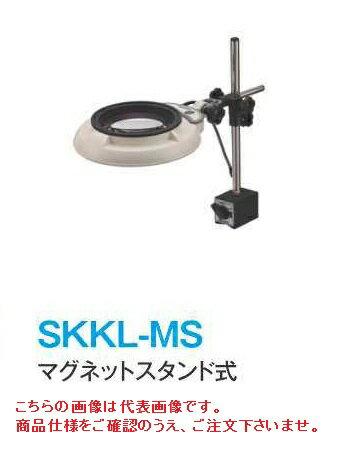 オーツカ光学 (OOTSUKA) LED照明拡大鏡・調光なし SKKL-MS ラウンド10倍 (SKKL-MS-10) (マグネットスタンド式)