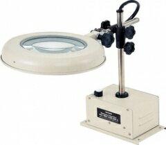 オーツカ光学 (OOTSUKA) LED照明拡大鏡 LEKワイド-D 3倍 (LEK-D-WIDE-3X) (ボックススタンド固定式)