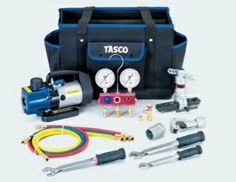 【代引不可】 TASCO (タスコ) R410A/R32エアコン工具セット TA21AB 【メーカー直送品】:道具屋さん