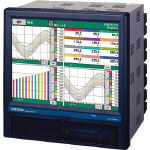 チノー (chino) KR3000シリーズ グラフィックレコーダ KR3140-N0A (722-0171) 《温度計・湿度計》