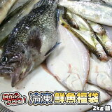 鮮魚を急速冷凍!北海道お魚福袋2kg 送料無料 ※沖縄は送料別途加算
