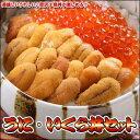 美味しいうれしい♪贅沢2色丼が楽しめる!!うに・いくら海鮮丼セット【楽ギフ_のし】