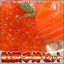 海産物の定番!!鮭といくら丼をタップリ楽しめる♪鮭親子丼セット【楽ギフ_のし】