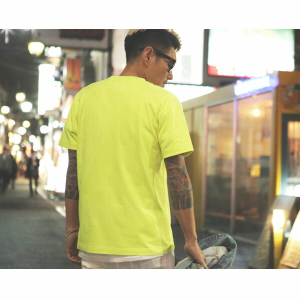 DOWBL/ ダブル/ Glorious Flower Neon Tee  【全2色】