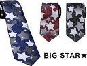 ネクタイ 星柄 大 3サイズ展開 送料無料