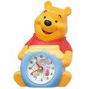 FD463A 置時計 目ざまし時計 SEIKO セイコー ディズニータイム くまのプーさん 置き時計 目覚まし時計 めざまし時計 目ざまし時計 目覚し時計 置時計 おき時計 卓上時計 テーブルクロック デスククロック