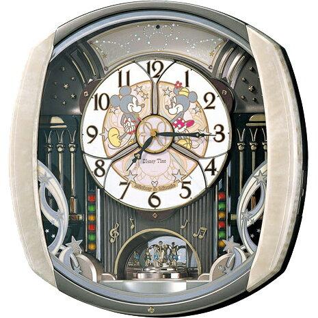 SEIKO セイコー 壁掛け時計 電波時計 ディズニータイム FW563A セイコー時計/電波掛け時計/電波掛時計/壁掛時計/かけ時計/壁掛け電波時計/電波壁掛け時計/ミッキーマウス/ミニーマウス FW563A