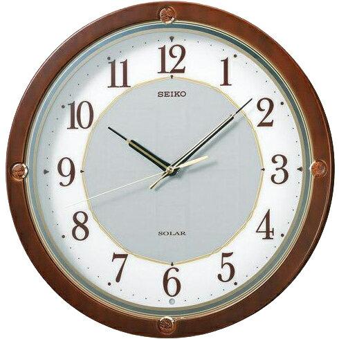 SEIKO セイコー 壁掛け時計 電波時計 SOLAR+ ソーラープラス SF232B セイコー時計/電波掛け時計/電波掛時計/壁掛時計/かけ時計/壁掛け電波時計/電波壁掛け時計