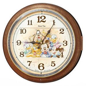 31f1a98853 FW587B 壁掛時計 SEIKO セイコー ディズニータイム ミッキー&フレンズ 壁掛け時計 電波時計 電波掛け時計