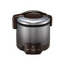 お取り寄せ RR-030VQ-DB-12A13A ガス炊飯器 都市ガス用 Rinnai リンナイ こがまる 0.5~3合 電子ジャー付 RR030VQDB12A13A ダークブラウン