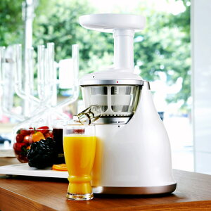 酵素入りの美味しいジュースが手軽に作れちゃう【送料無料】 低速圧縮パワフルジューサー HURO...