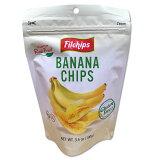 Filchipsロングカット薄切りバナナチップス100g グルテンフリー