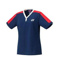 【送料無料】【2021年春夏モデル】【YONEX ヨネックス】 20629A テニス・バドミントン ウェア(ウィメンズ) レディース 女性用 75TH ゲームシャツ ミッドナイト 170 [210315]