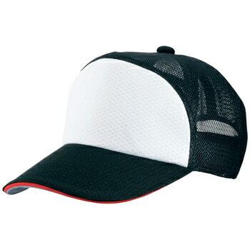 【Mizuno ミズノ】【キャップ 帽子】野球 ベースボールキャップ プラクティスキャップ 52BA30109 ブラック(サンド:レッド)
