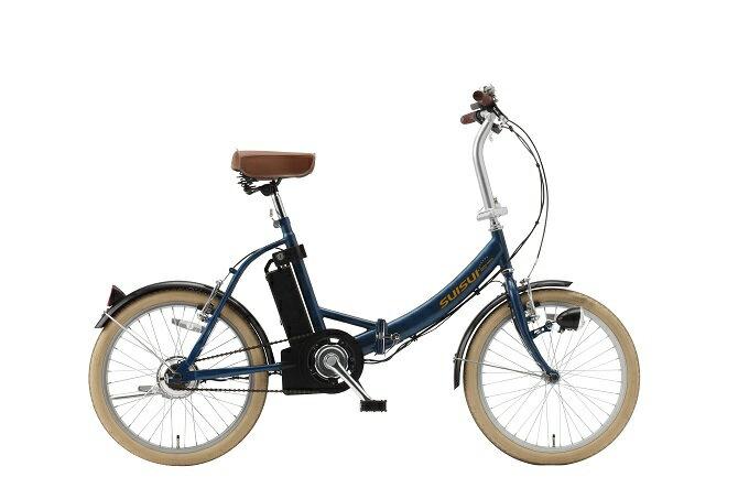 20インチ 電動アシスト自転車 電動 自転車 スイスイ SUISUI  ワンタッチコントローラー KH-DCY310 ホワイト/ブラック/ネイビー 【代引不可】:ドラゴンマップ