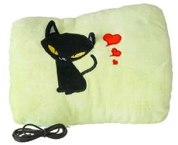 【送料無料】ブロードウォッチ USBホット抱き枕 USB-HAND-WRM 2色:(猫柄・ベージュ)