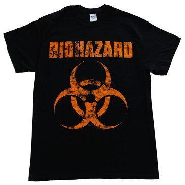 バイオハザード・BIOHAZARD ディストレスドロゴ Tシャツ ロックTシャツ オフィシャルバンドTシャツ【RCP】【コンビニ受取対応商品】