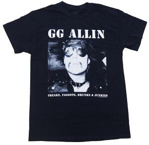 GG アリン・GG ALLIN・FREAKES・ロックTシャツ オフィシャル バンドTシャツ【RCP】【コンビニ受取対応商品】
