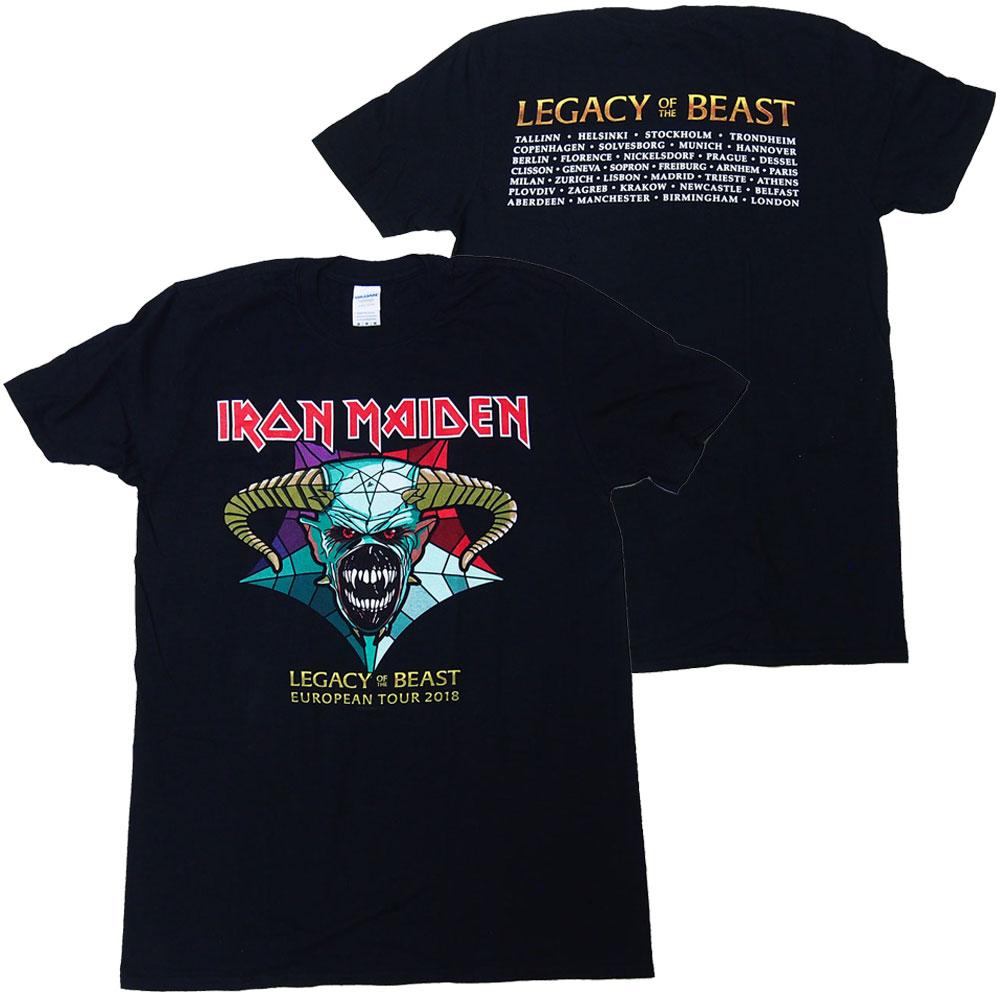 トップス, Tシャツ・カットソー  IRON MAIDENLEGACY OF THE BEAST TOUR 2018T TRCP