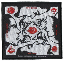 RED HOT CHILI PEPPERS・レッド ホット チリ ペッパーズ・BLOOD SUGAR・刺繍パッチ・ワッペン