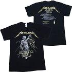 メタリカ・METALLICA・ANDJUSTICEFORALLTRACKSBLACKTシャツ
