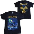 メガデス・MEGADETH・RUSTINPEACE30THANNIVERSARY・UK版・Tシャツ・バンドTシャツ