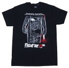 FRIDAYTHE13TH・13日の金曜日・BLOODYPOSTER映画TシャツオフィシャルTシャツ