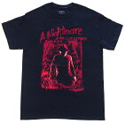 ANIGHTMAREONELMSTREET・エルム街の悪夢・FREDDYSILHOUETTE・Tシャツ・映画Tシャツ