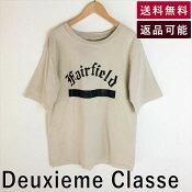 【中古】ドゥーズィエムクラスDeuxiemeClasseTシャツダメージ加工オーバーサイズロゴD0126N005-D0515