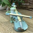 【新作】コポーバイオリンをひくカエルcopeauコポーシリーズコポタロウコポたんかえるカエル雑貨置き物オブジェフィギュア置物小物ガーデンミニチュアDRAWERPLUSドロワープラスどろわーぷらすダイカイ【72243】