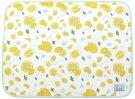【71815】ひざかけレモンソメル暑い夏でもひんやり気持ち良い大人かわいいテキスタイルデザイン
